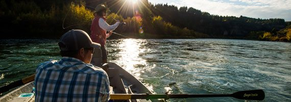 Fly fishing guide school make fly fishing your new career for Owyhee river fishing report