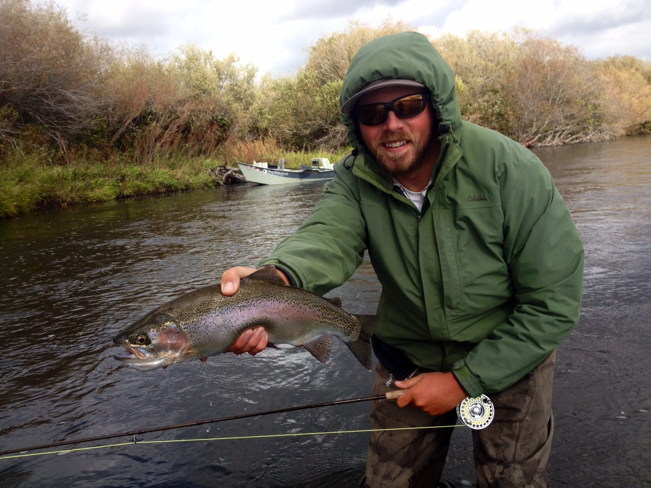 November 15 2014 south fork of the snake river fishing for Snake river fishing report