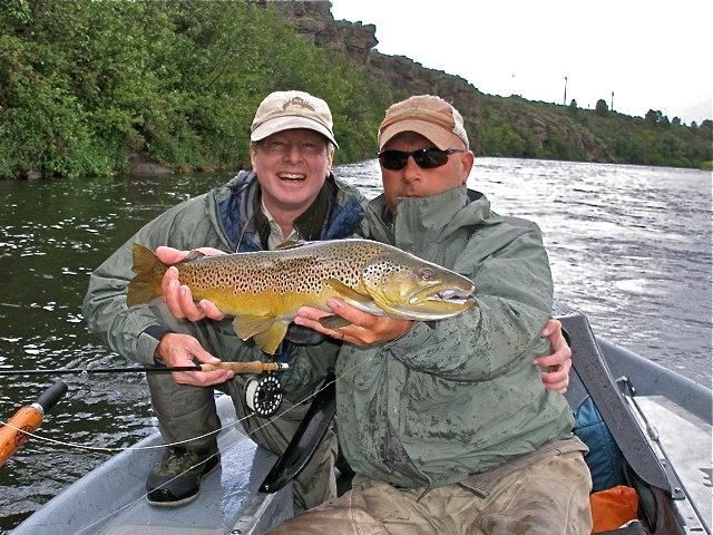 Guide services trr outfitters for Owyhee river fishing report