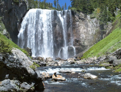 Hiking, camping, and fishing in Yellowstone's Cascade Corner.