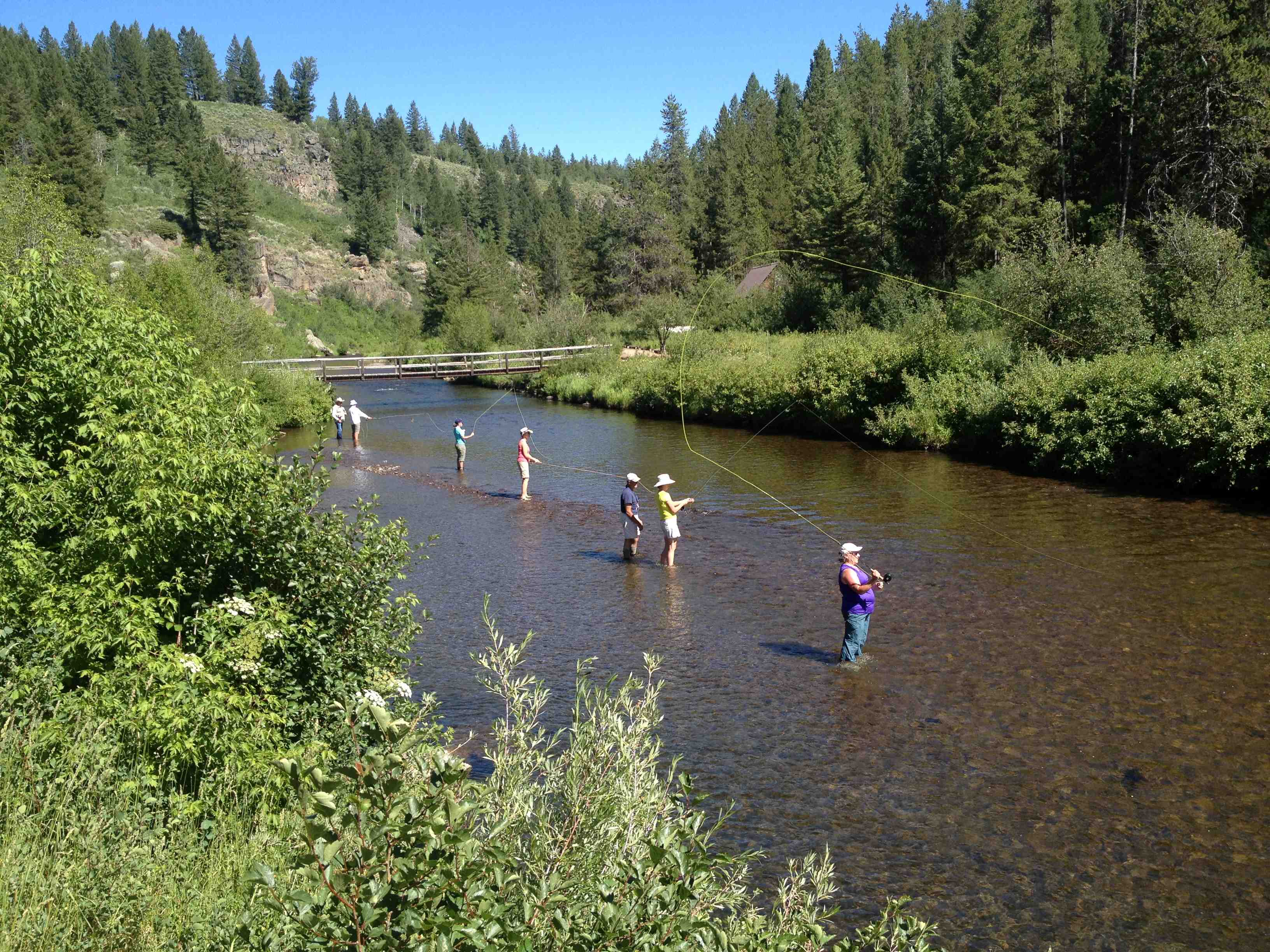 fly fishing 101 class in idaho learn how to fly fish for