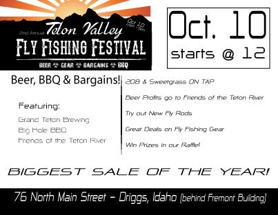 TRR FLY FISHING FEST IN DRIGGS