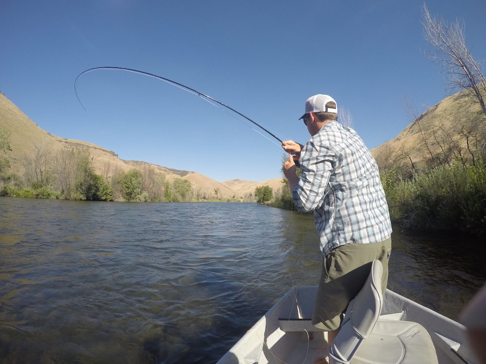 Boise river fishing report july 25 2015 trr outfitters for South fork snake river fishing report