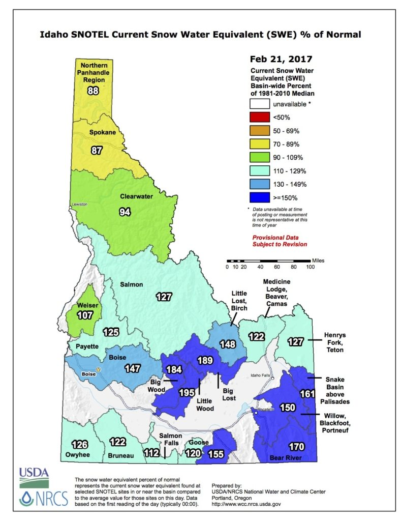 Idaho Water Report
