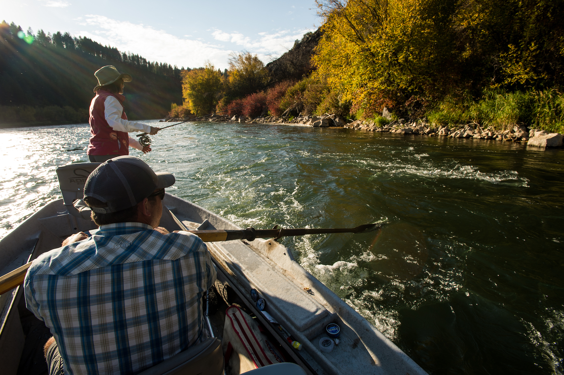 Fly Fishing Guide School Three Rivers Ranch