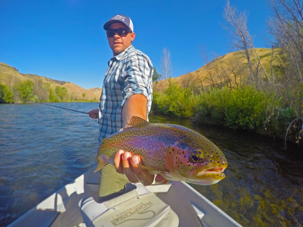 Boise river fly fishing report january trr outfitters for Fly fishing boise idaho
