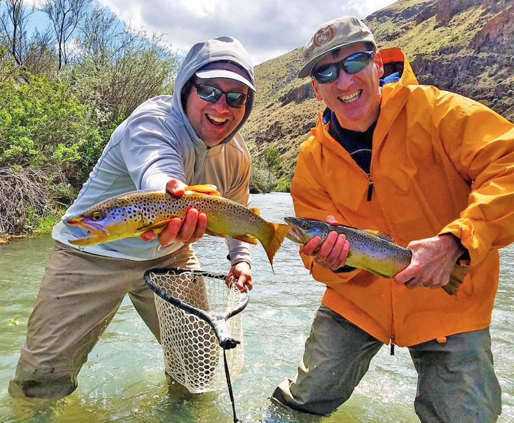 Owyhee river fishing report january trr outfitters for Owyhee river fly fishing