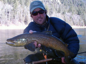 Three Rivers Ranch fly fishing guide Tim Warren