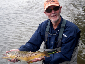 Senior Guide with Three Rivers Ranch, Cliff Weisse