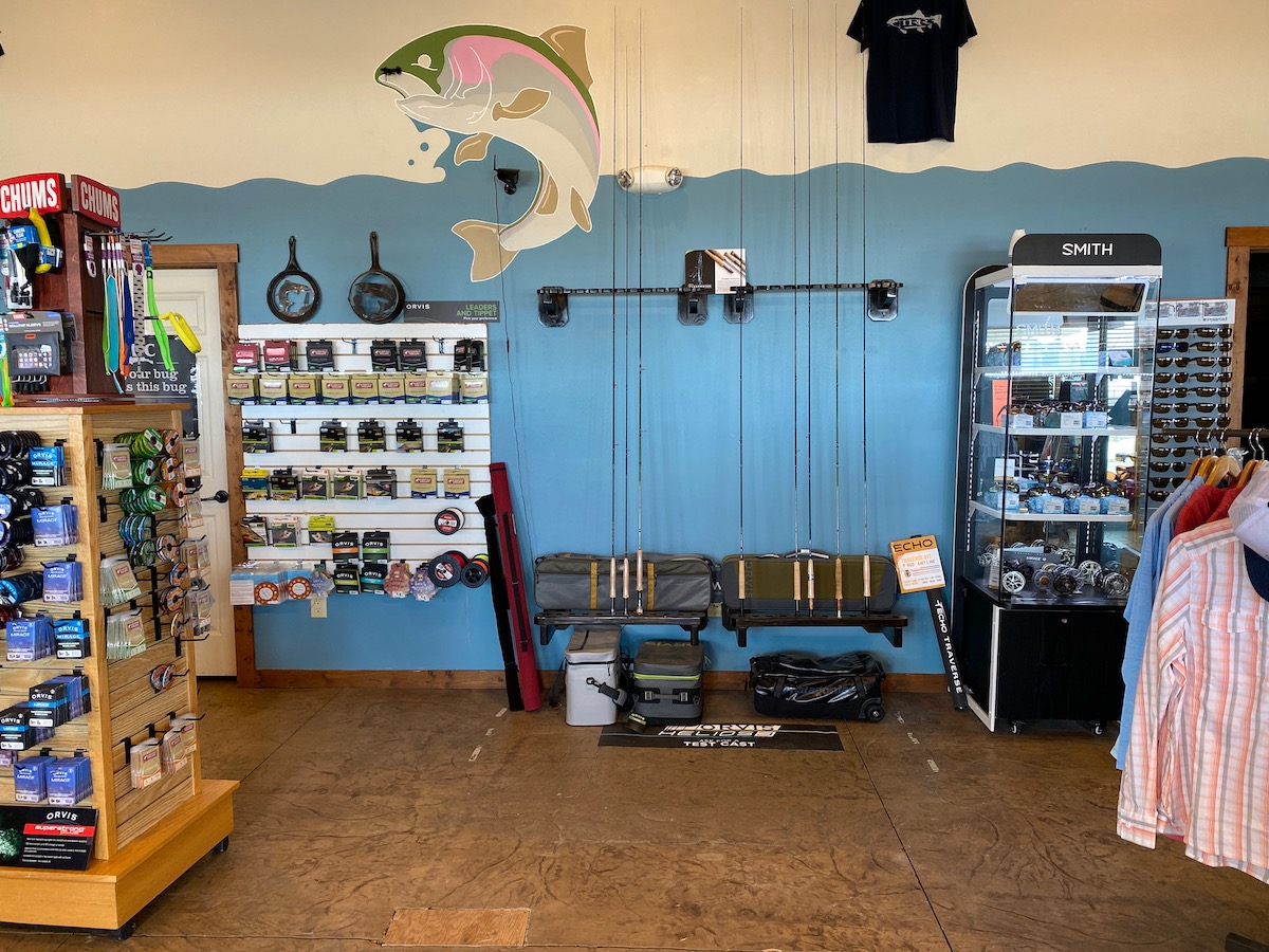 Get the latests fishing gear, fly rods, sunglasses for your fishing vacation to Idaho